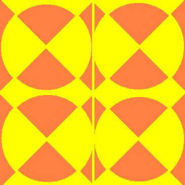 symmetrical circles - Orange and Yellow.JPG