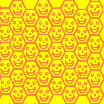 hexagon mosaic - smiled edition.JPG