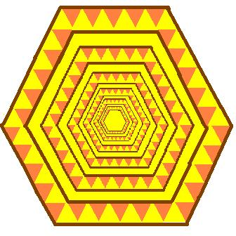 hexagons in the hexagons - yellowed edition.JPG