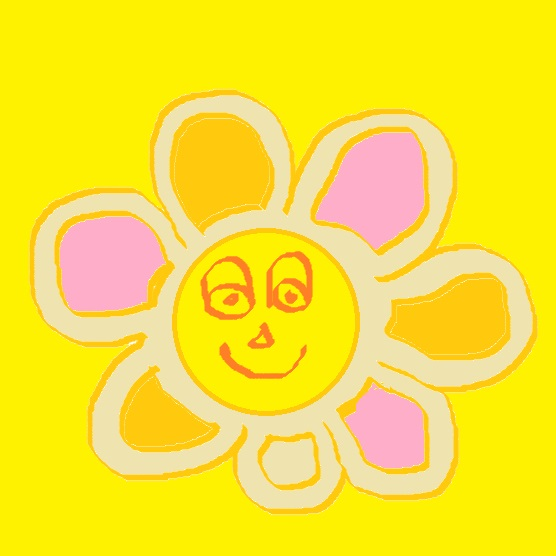 smiling double flower full of color.jpg