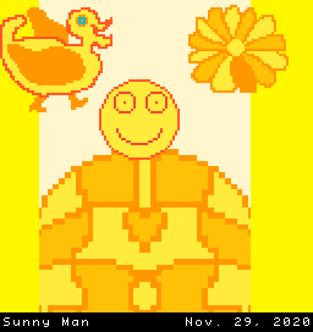 Loving man sitting on the sun.png