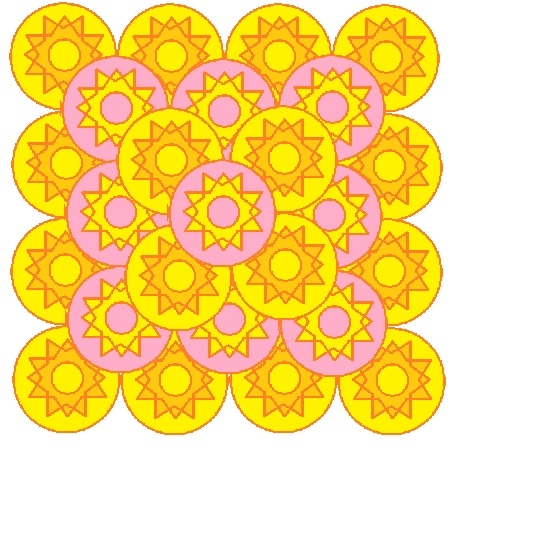 large tower of sunny circles.jpg