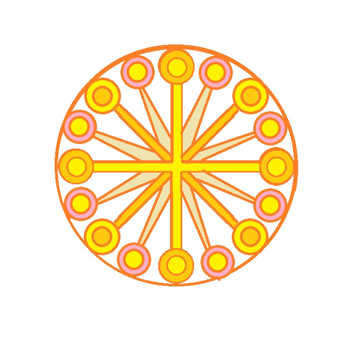 symmetric ornaments of lines with 16 circles.jpg