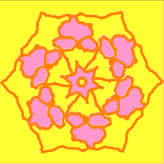 hexagon with tulips in a circle. 6.png